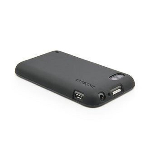 CAPDASE Soft Jacket Xpose Series For BB Q5 [SJBBQ5-P2Y1-BB] - Solid Black - Casing Handphone / Case